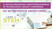 PROGRAM MENTORINGOWY Lean in STEM 2017